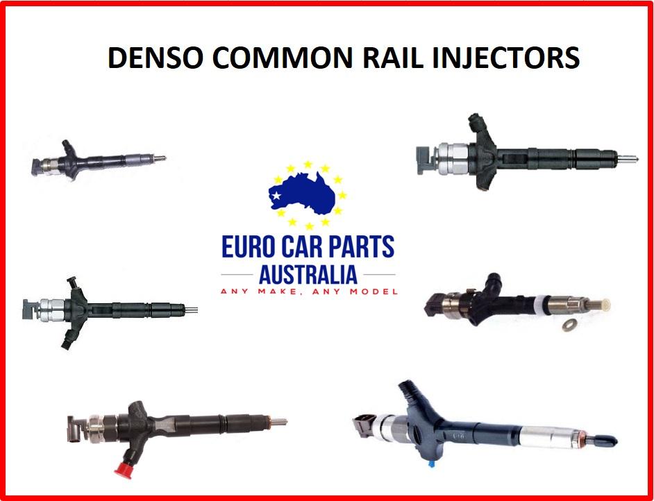 DENSO COMMON RAIL INJECTOR  TOYOTA HILUX / PRADO 1KD-FTV EURO 4  23670-30140
